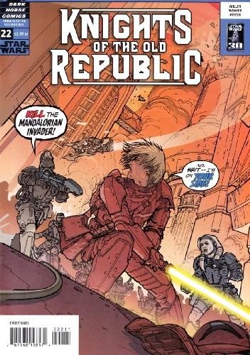Okładka książki Star Wars: Knights of the Old Republic #22