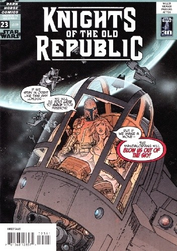 Okładka książki Star Wars: Knights of the Old Republic #23