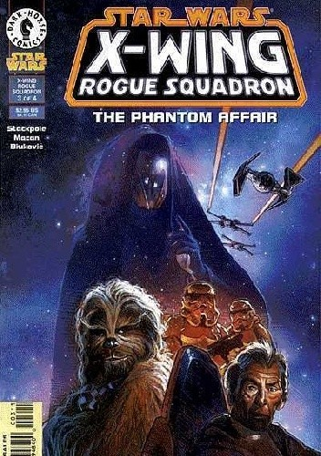 Okładka książki X-Wing Rogue Squadron #7
