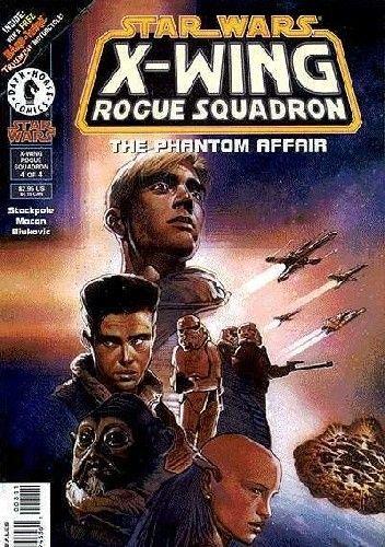 Okładka książki X-Wing Rogue Squadron #8