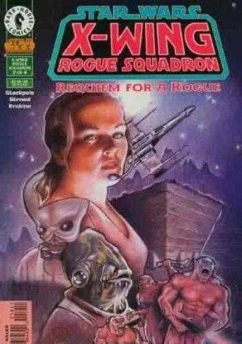Okładka książki X-Wing Rogue Squadron #18