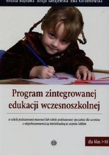 Okładka książki Program zintegrowanej edukacji wczesnoszkolnej