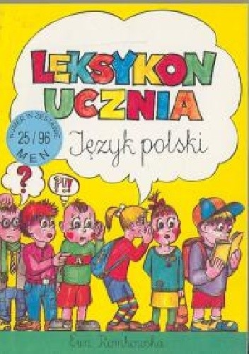 Okładka książki Leksykon ucznia
