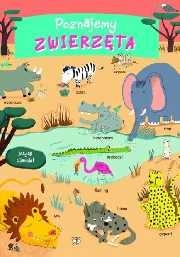 Okładka książki Poznajemy zwierzęta