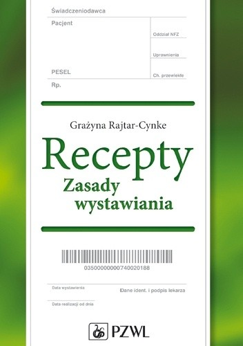 Okładka książki Recepty. Zasady wystawiania