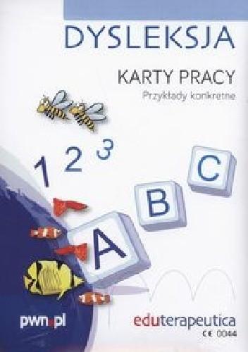 Okładka książki Eduterapeutica Dysleksja Karty pracy