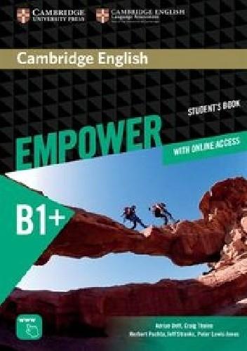 Okładka książki Cambridge English Empower Intermediate Student's book B1+