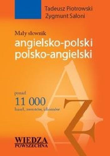 Okładka książki Mały słownik angielsko-polski polsko-angielski