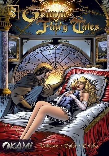 Okładka książki Grimm Fairy Tales #5 Śpiąca Królewna