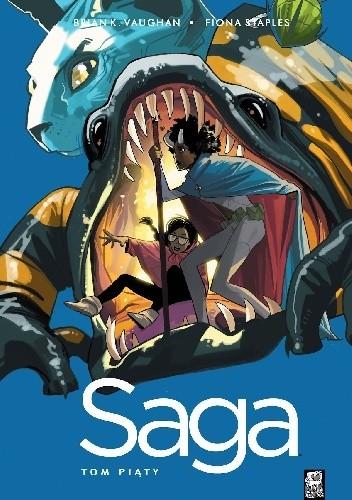Okładka książki Saga. Tom Piąty