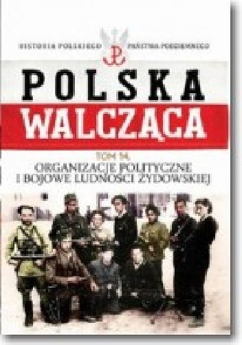 Okładka książki Organizacje polityczne i bojowe ludności żydowskiej