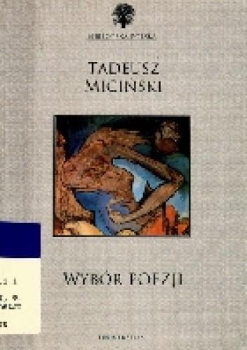 Okładka książki Wybór poezji- Tadeusz Miciński