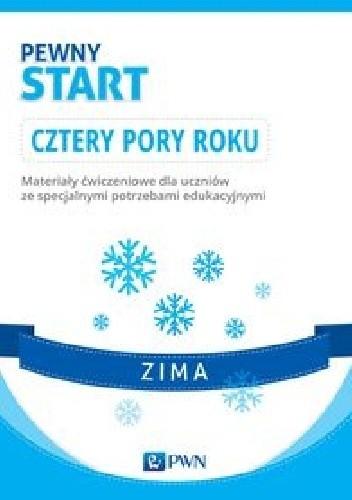 Okładka książki Pewny start Cztery pory roku Zima