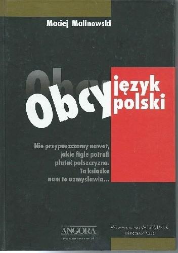 Okładka książki Obcy język polski