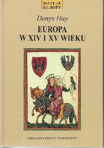 Okładka książki Europa w XIV i XV wieku