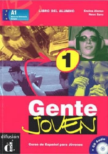 Okładka książki Gente Joven 1 A1