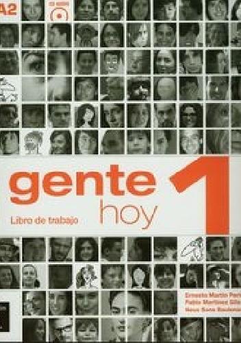 Okładka książki Gente Hoy 1 Ćwiczenia