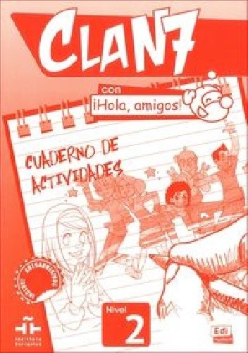 Okładka książki Clan 7 Con iHola amigos! Nivel 2