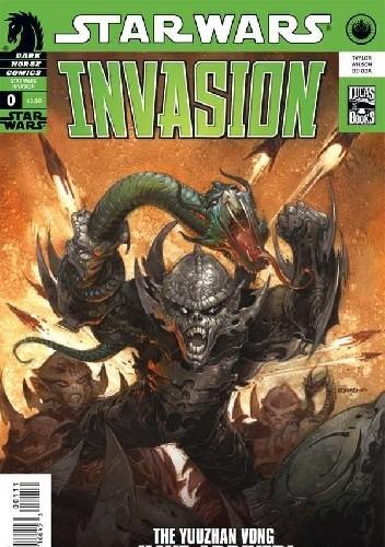 Okładka książki Star Wars: Invasion #0