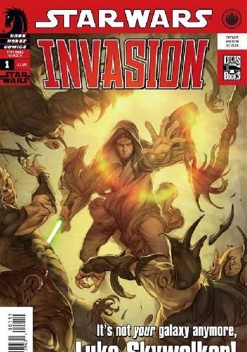 Okładka książki Star Wars: Invasion #1