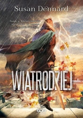 Okładka książki Wiatrodziej