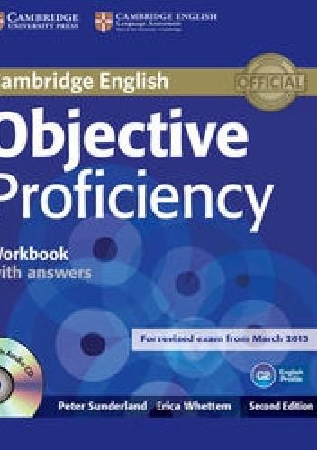 Okładka książki Objective Proficiency Workbook with answers