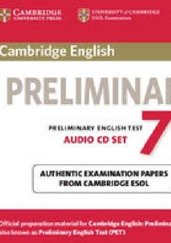 Okładka książki Cambridge English Preliminary 7