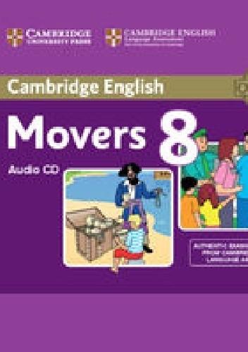 Okładka książki Cambridge English Movers 8