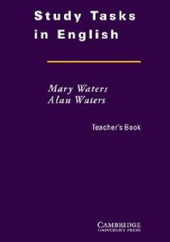 Okładka książki Study Tasks in English Teacher's Book