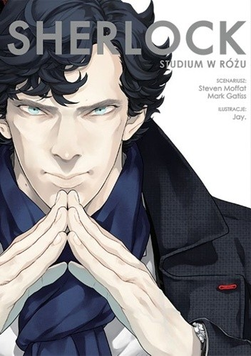 Okładka książki Sherlock: Studium w różu