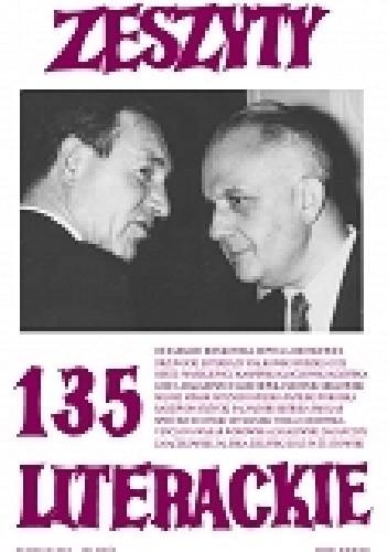 Okładka książki Zeszyty Literackie nr 135