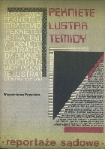 Okładka książki Pęknięte lustro Temidy