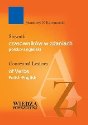 Okładka książki Słownik czasowników w zdaniach polsko-angielski