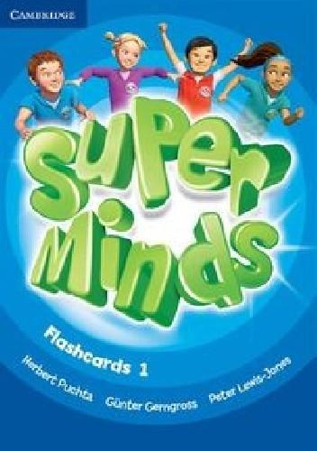 Okładka książki Super Minds Flashcards 1