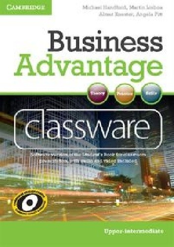 Okładka książki Business Advantage Upper-intermediate Classware