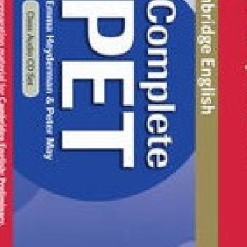 Okładka książki Complete PET Class Audio