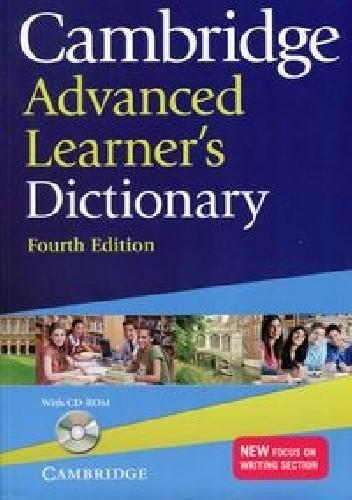 Okładka książki Cambridge Advanced Learner's Dictionary 4th Edition
