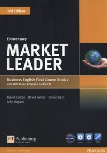 Okładka książki Market Leader Elementary Business English Flexi Course Book 2 3rd Edition