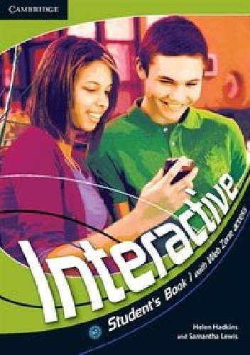 Okładka książki Interactive Student's Book 1 with Web Zone access
