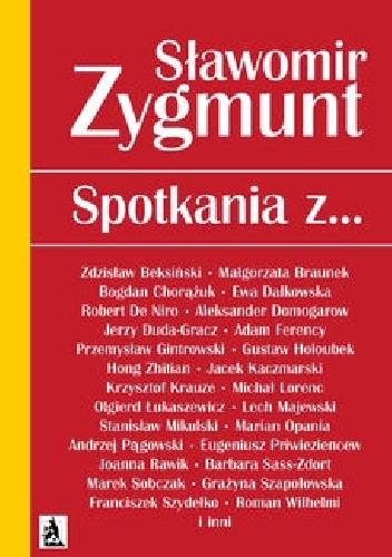 Okładka książki Spotkania z…