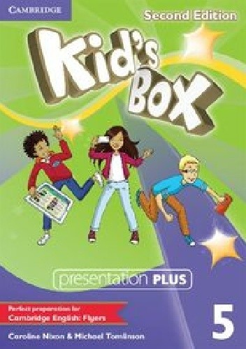 Okładka książki Kid's Box 5 Presentation Plus 2cd Edition