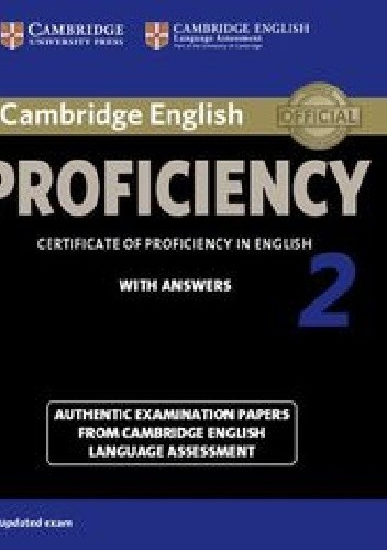 Okładka książki Cambridge English Proficiency 2