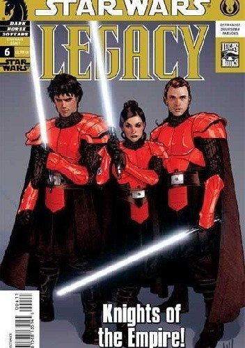 Okładka książki Star Wars: Legacy #6