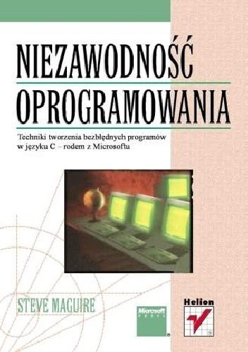 Okładka książki Niezawodność oprogramowania