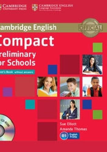Okładka książki Cambridge English Compact Preliminary for Schools Student's Book