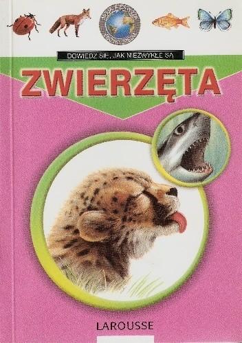 Okładka książki Zwierzęta Encyklopedia Larousse'a