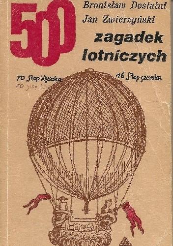 Okładka książki 500 zagadek lotniczych