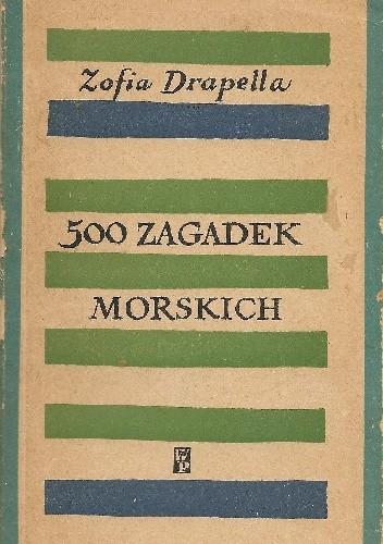 Okładka książki 500 zagadek morskich