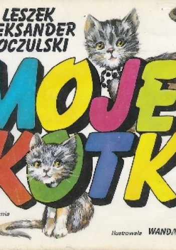 Okładka książki Moje kotki