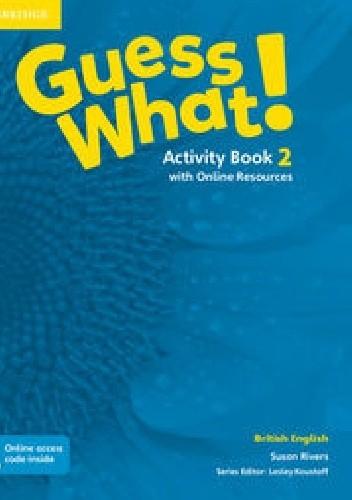 Okładka książki Guess What! 2 Activity Book